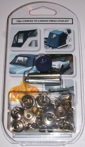 Snap Fastener kits including tools - Sussex Marine Supplies