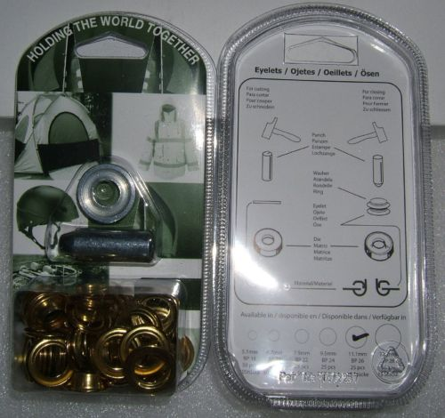 "BP26 EYELET KIT 11mm or 7/16"" With Hole Punch & Die Tools"