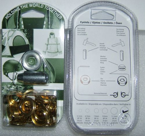 "BP28 EYELET KIT 13mm or 1/2"" With Hole Punch & Die Tools"