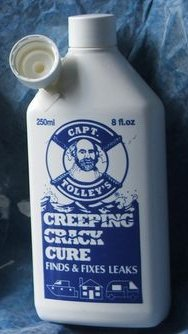 Captain Tolley's Creeping Crack Cure 250 ml bottle FREE UK P&P