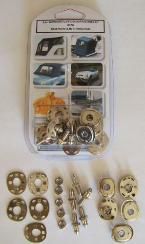Super Spot Lift The Dot Type Fastener M5 Stud Refill Pack