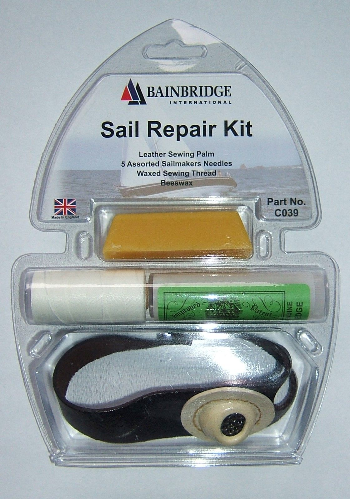 Left Hand William Smith Sailmakers Repair Kit Inc 5 Needles