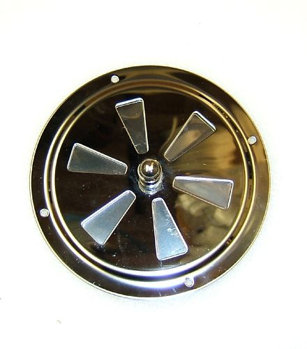 ROUND BUTTERFLY 316 GRADE VENT 100mm