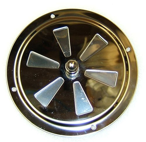 ROUND BUTTERFLY VENT 316 GRADE  127mm